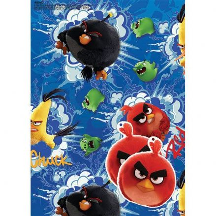 Angry Birds Gift Wrap and Tags
